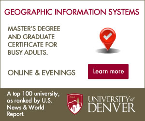 university of Denver GIS