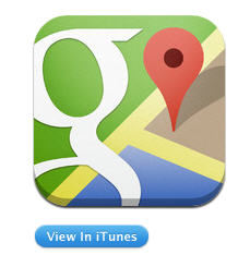 A new Update for Google Maps - Better Mobile, More
