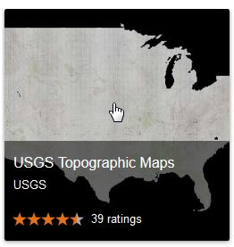 USGS topos via google map gallery