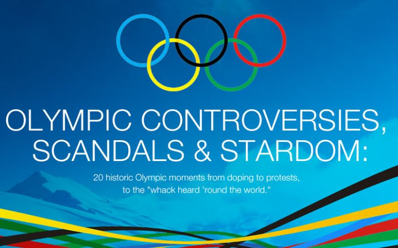 Olympic Controversies, Scandals, & Stardom