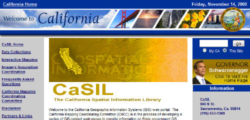 casil California GIS data