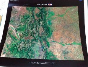 colorado landsat image - USGS
