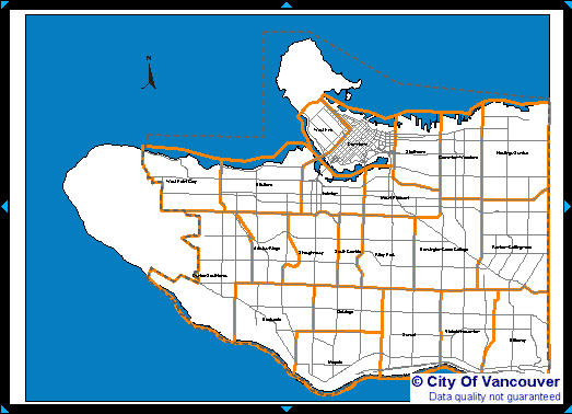 Mapping Vancouver, B.C and the 2010 Olympics - Useful GIS and ... on