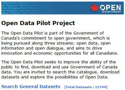 open data canada